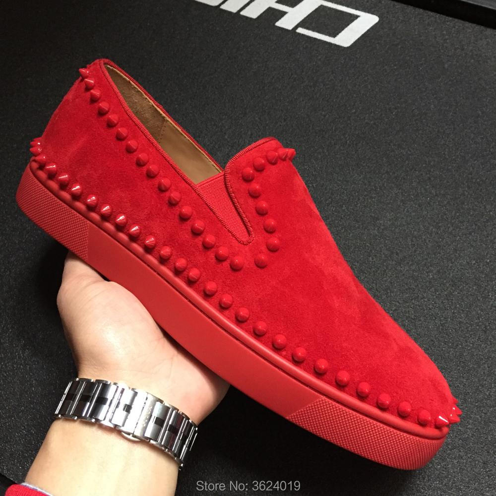 Rojo De Andgz Bajo Hombres Alta Zapatos Para Primavera Remaches Calzado Corte Cl Cuero Calidad Zapatillas Mocasines Círculo Hombre Deporte 0wFdnAqn