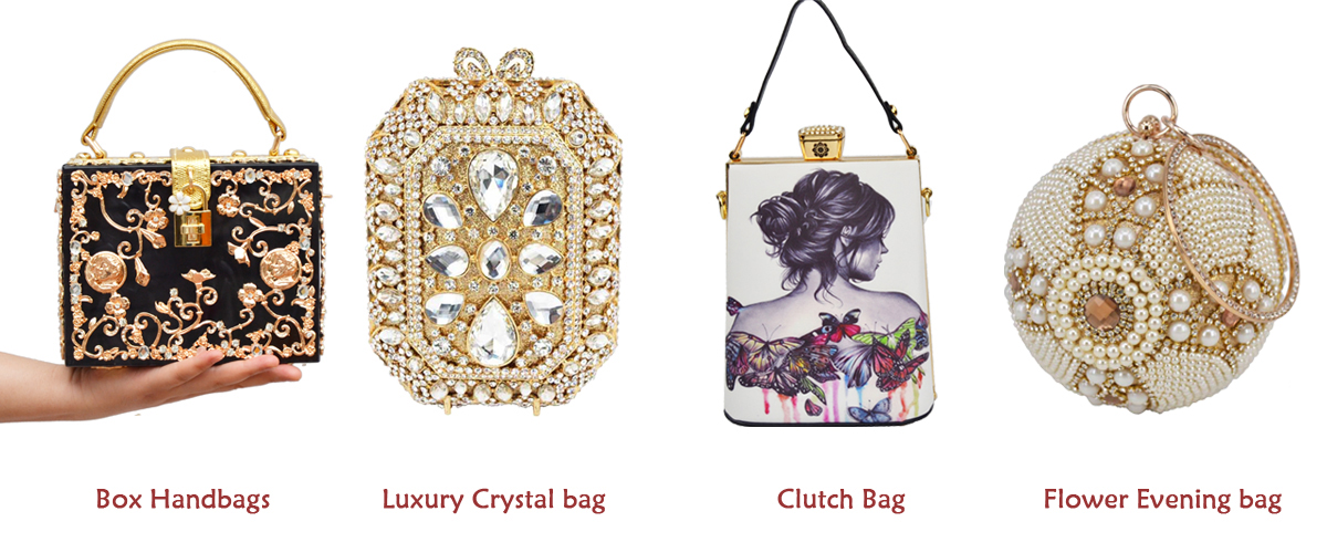 64a79f5cd1 New arrive. 9 colors Boutique Crystal Evening Bags ...