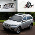 For Lifan X60 2011 2012 2013 2014 2015 Excellent CCFL Angel Eyes kit Ultrabright headlight illumination angel eyes Halo Ring kit
