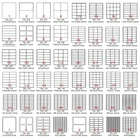 Jetland A4 Address Label Sheets Self Adhesive Shipping FBA Stickers Laser/Inkjet Printer, A4 Die-cut Stickers, 50 Sheets /Pack