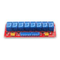 1PCS Red 8Channel Relay Module 12V High And Low Level Isolation Optocoupler
