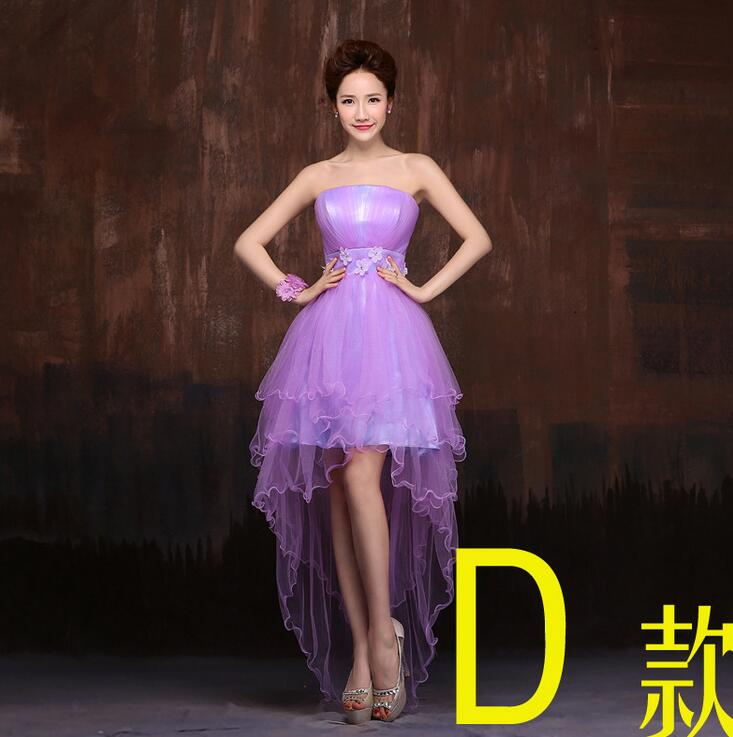 f3cfcdf9b8 Aliexpress.com : Buy Elegant Purple Flower Sleeveless Short Bridesmaid  Dresses Sexy Off Shoulder Wedding Party Dress A line Vestido De Festa LF04  from ...