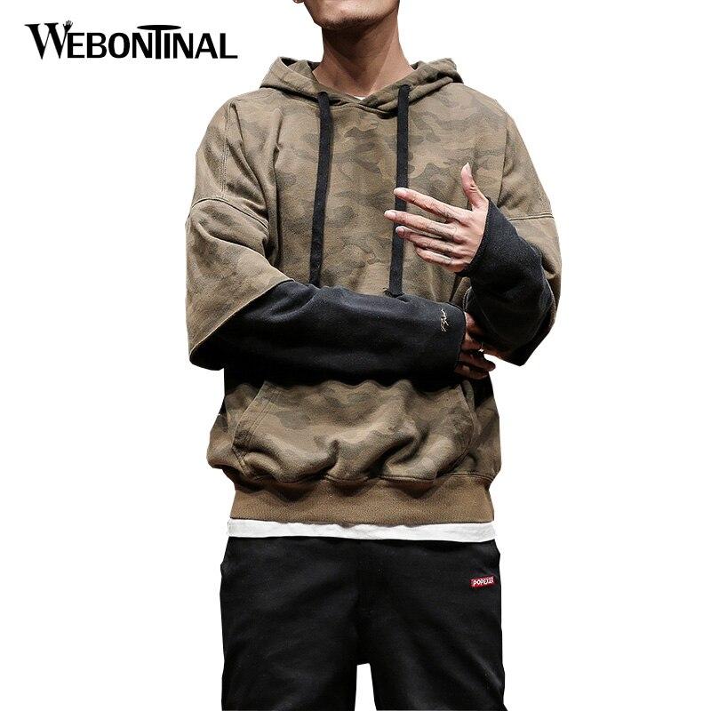 Autumn Winter Hoodie Male 95% Cotton Hip Hop Sweatshirt Men Hoodies moleton masculino Mens Hooded Pullover Tracksuit W18138