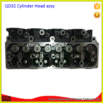 Complete CYQD32T QD32T cylinder head 11039-VH002 /11041-6T700 for Nissan Frontier 3153cc 8v