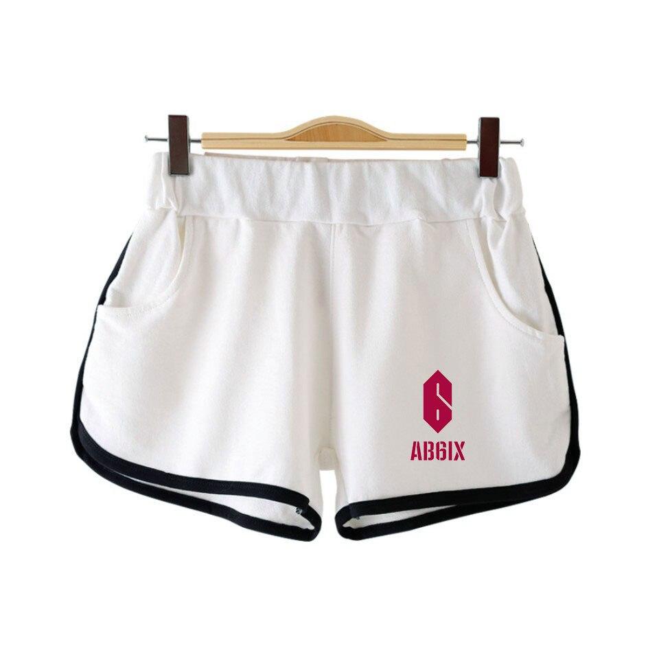Kpop Brandnewboys AB6IX 2D Print Women Girls Shorts Clothes Harajuku Casual Sports Ladies Hot Sale Sexy Kawaii Shorts