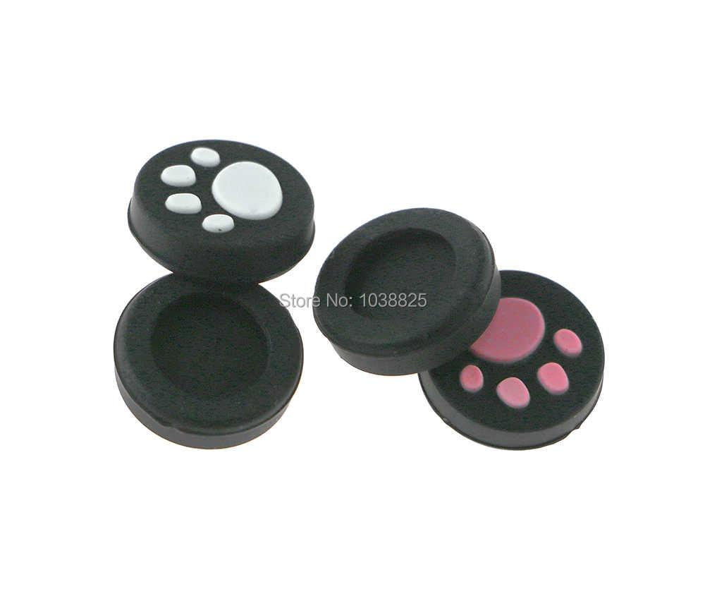 2 pçs/lote Silicone Grips Caps Joystick Analógico Caso Capa Protetora Para PlayStation PS Vita PSV Psvita 1000 2000