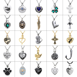 Charms Heart Cremation Pendant