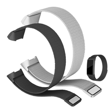 Stainless Steel Strap For Fitbit Charge 3 Band Metal Screwless Bracelet Wristbands Replace Accessories