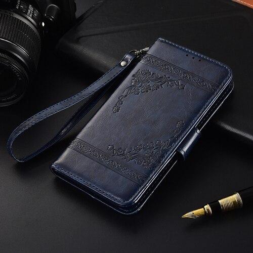 Flip Funda de cuero para Samsung Galaxy A7 2018 A750 Fundas cartera caso, caso del TPU para el caso de Samsung A7 2018 SM A750F bolsa