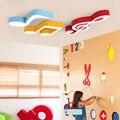 Креативный минималистичный светодиодный потолочный светильник для детей  персонализированная потолочная лампа для танцев с героями мульт...