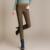 {Guoran} invierno mujeres stretch cotton casual pantalones Más El tamaño 4XL lana gruesa ladies patchwork negro lápiz pantalones de cintura elástica