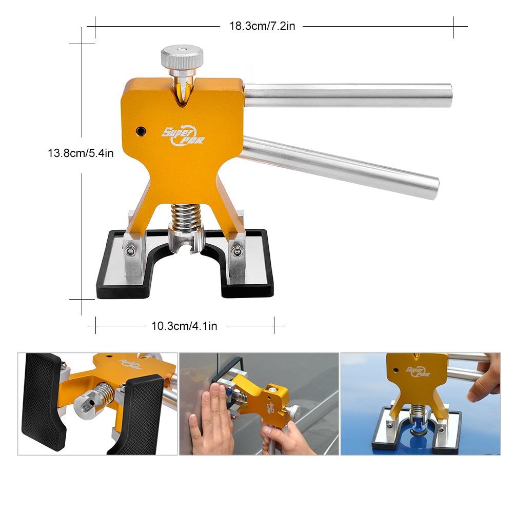 PDR Tools Remove Dent Car Body Paintless Dent Repair Tool Set LED - Juegos de herramientas - foto 3