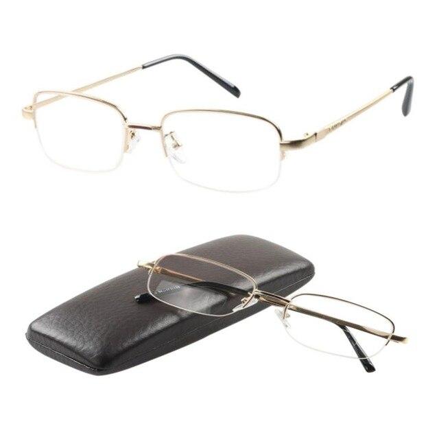 eb022777a4 Lunettes de lecture Unisexe Vintage Près et de Loin Smart Zoom Double  Lumière lunettes de Presbyte