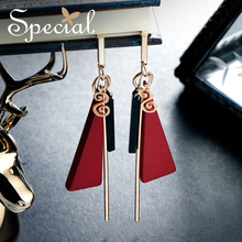 The SPECIAL Brand euramerican vintage geometric  ear nails female earrings for women 2019 new collection S2196E