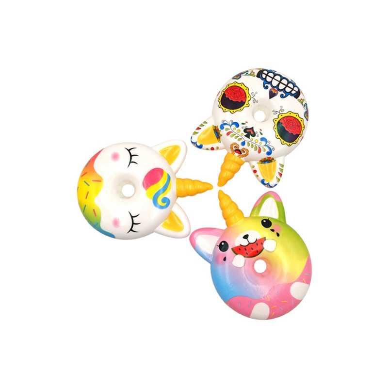 WNNL058-1 นุ่มใหม่ Unicorn Donut ช้า Rebound การ์ตูน Mini Pu โฟมของเล่นน่ารัก Cool Unicorn สัตว์การ์ตูนสัตว์ของเล่นตลกของขวัญ