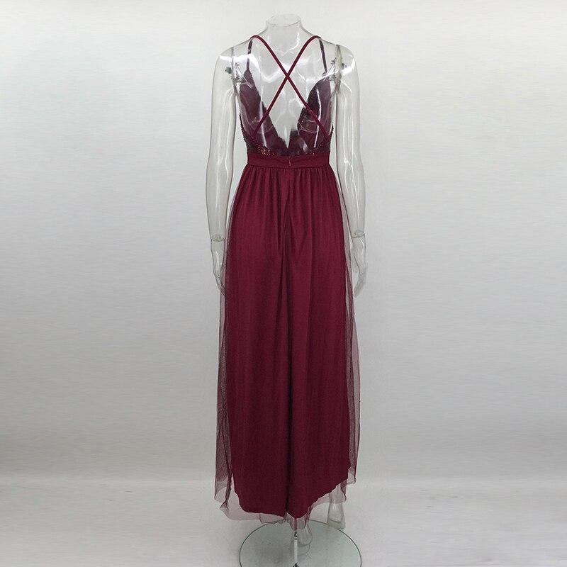 4df5e41b5f0be7 NATTEMAID 2017 nieuwjaar Sexy Vrouwen Rode Jurk Modemerk nieuwe Maxi lange  mesh Jurken vintage floor sequin Vestidos in NATTEMAID 2017 nieuwjaar Sexy  ...