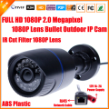H.264 2MP Security IP Camera Outdoor CCTV Full HD 1080P 2.0 Megapixel Bullet Camera IP 1080P Lens IR Cut Filter ONVIF 24 LED