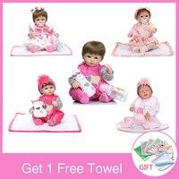 NPK 40cm Reborn Baby Dolls Soft Silicone Cotton Body Reborn Doll Handmade Reborn Toddler Reborn Doll For Girls Toys For Children