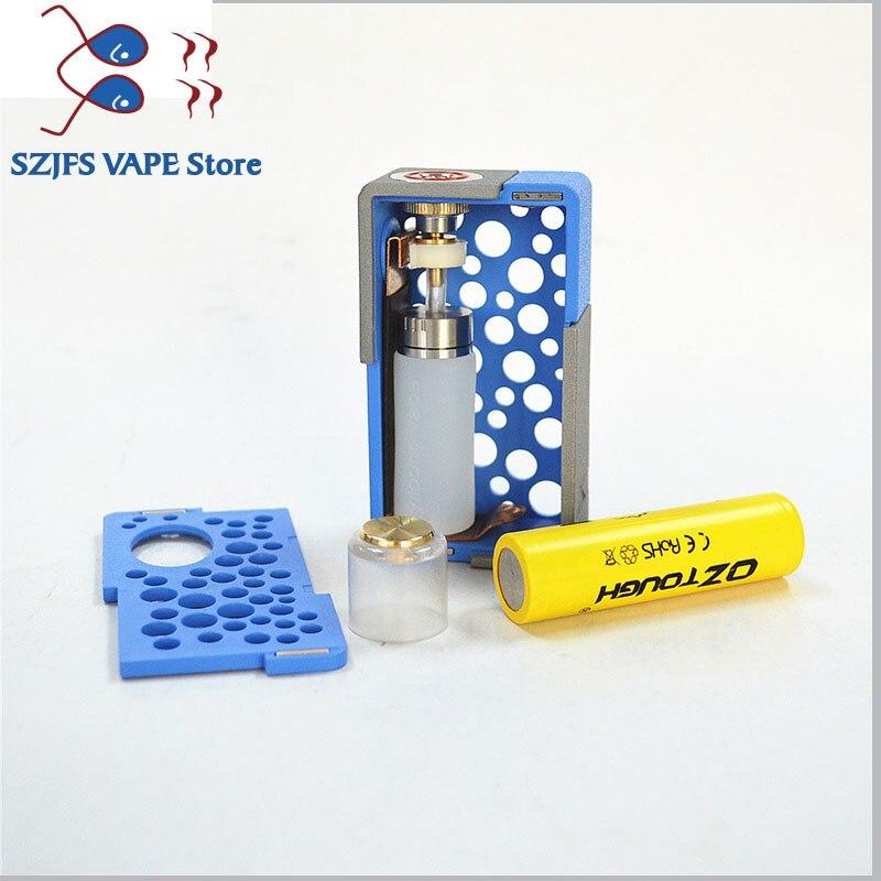 ספיישל משחקי-Quercetti מקורי Yiloong fogger XBOX מכני סקוונק Box MOD 8ml סיליקון בקבוק 18,650 20,700 סוללה אוטומטית הגדרת Vape אופנות vs GEN 25 (5)