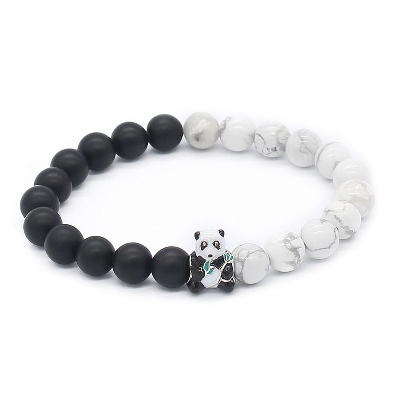 Poshfeel Panda Bracelet 8mm...