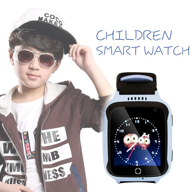 JRGK D'origine M05 Smart Montre Enfant Enfants Montre GPS pour Apple et Android Téléphone Intelligent Bébé Montre Électronique