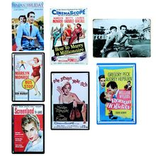[  Sun86 ] HOW TO MARRY A MILLIONAIRE Classic Movie Painting Wall Bar Home Art Decor Cuadros Mix Order 30X20CM A-8564