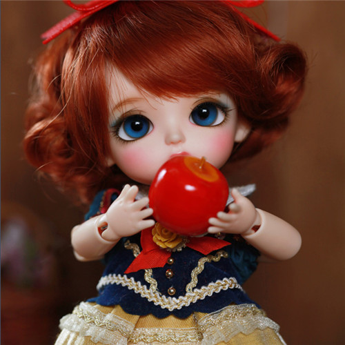 Bjd Sd Doll Sophie Snow White Girl 1/8 Girl Joints Doll