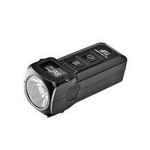 NITECORE TUP фонарик брелок свет CREE XP-L HD V6 max 1000 лм EDC компактный и легкий луч расстоянии 180 м с Батарея