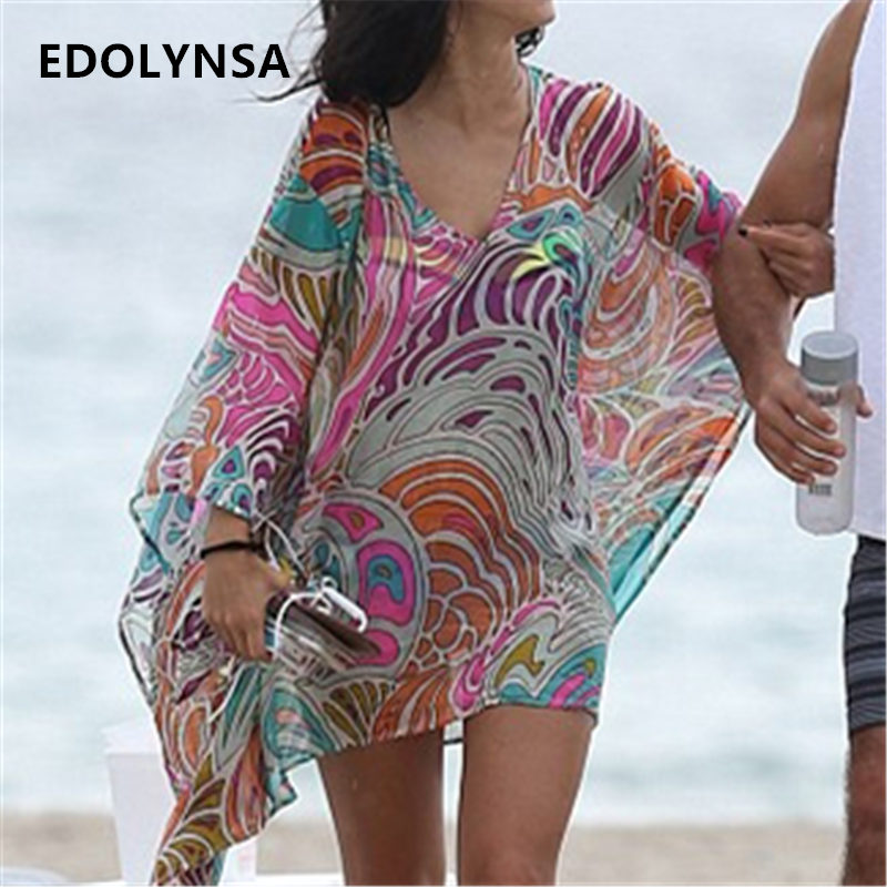 Sports & Entertainment Swimming Summer Black Beach Dress Kaftan Pareo Sexy Cover-up Chiffon Bikini Swimwear Tunic Swimsuit Bathing Suit Cover Ups Robe