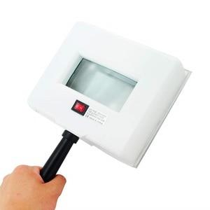 Image 2 - מנורת עור UV מנתח עור פנים בדיקות בדיקה מגדלת Analyzer מנורת מכונה עם מגן כיסוי ופנים וילון ספא