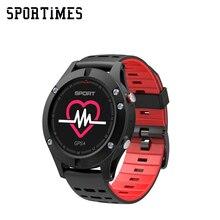 2018 NOVOS relógios Inteligentes F5 IP68 Smartwatch Pulseira GPS Ao Ar Livre Multi-Relógio do esporte Dos Homens à prova d' água wearable dispositivos PK EX17 f5