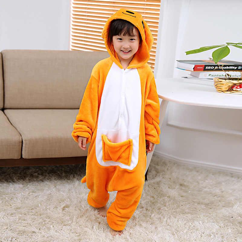 Кенгуру комбинезоны комбинезон для мальчиков и девочек пижама карманы детей  Косплэй Костюм Onesie Одеяло слиперы пижамы b0d94e5d74090
