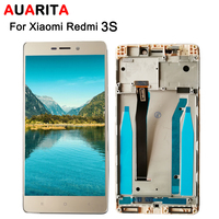 AAA Quality 1pcs Lot LCD For Xiaomi Redmi 3S LCD Display Touch Panel Screen Digitizer With