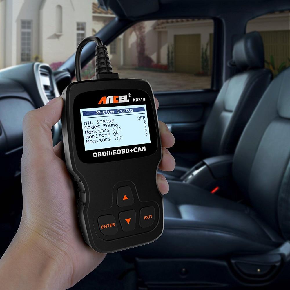acheter ancel ad310 obd2 automotive scanner obd outil de diagnostic automobile dans le lecteur. Black Bedroom Furniture Sets. Home Design Ideas