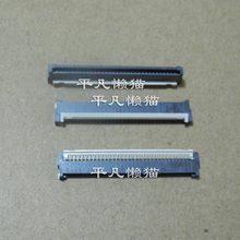 FPC 32 pin 1MM pitch niedrigeren zurück clamshell buchse notebook boot tastatur ventilkegel