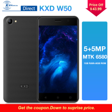 Black/Gold/Red KXD W50 3G 5.0″ MTK6580 1GB+8GB Quad Core Andriod6.0 5MP+5MP Dual Camera Dual Sim Card 2100mAh Battery Smartphone