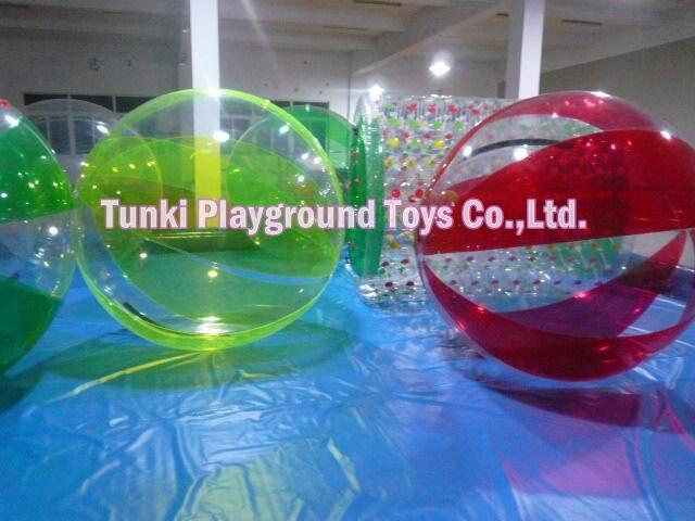 water running balloon; aqua walking ball; air bumper ball