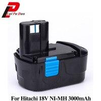 Rechargeable Battery 18V NI MH 3000mAh for Hitachi Power Tool Screwdriver Drill: EB1820 EB1812 EB1830H EB1833X EB18B 322437