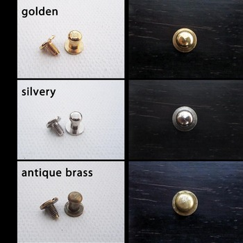 12pcs Mini Decorative Mini Solid Brass Jewelry Chest Box Cabinet Dresser Drawer Pull Knob 5mm with screw