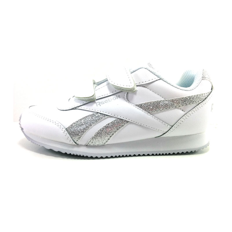 Royal reebok cljog GIRL- Kid SHOES Synthetic WHITE-SUMMER trend 2018 urban 32,5 eu Velcro back to school