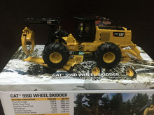 RARE – Caterpillar Cat 555D Wheel Skidder 1:50 DieCast Model By DM – New #85932