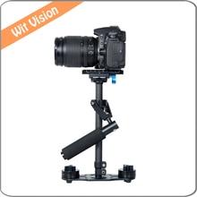 40cm Carbon Fiber Stabilizer Hand-held Steadicam Micro Film Equipment for Camcorders DSLR Cameras