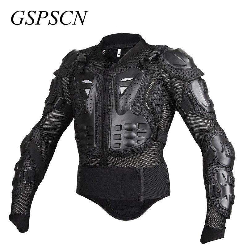 GSPSCN Moto armure corporelle complète Motocross veste colonne vertébrale poitrine protection gear Motocross Motos protecteur Moto Moto veste - 3