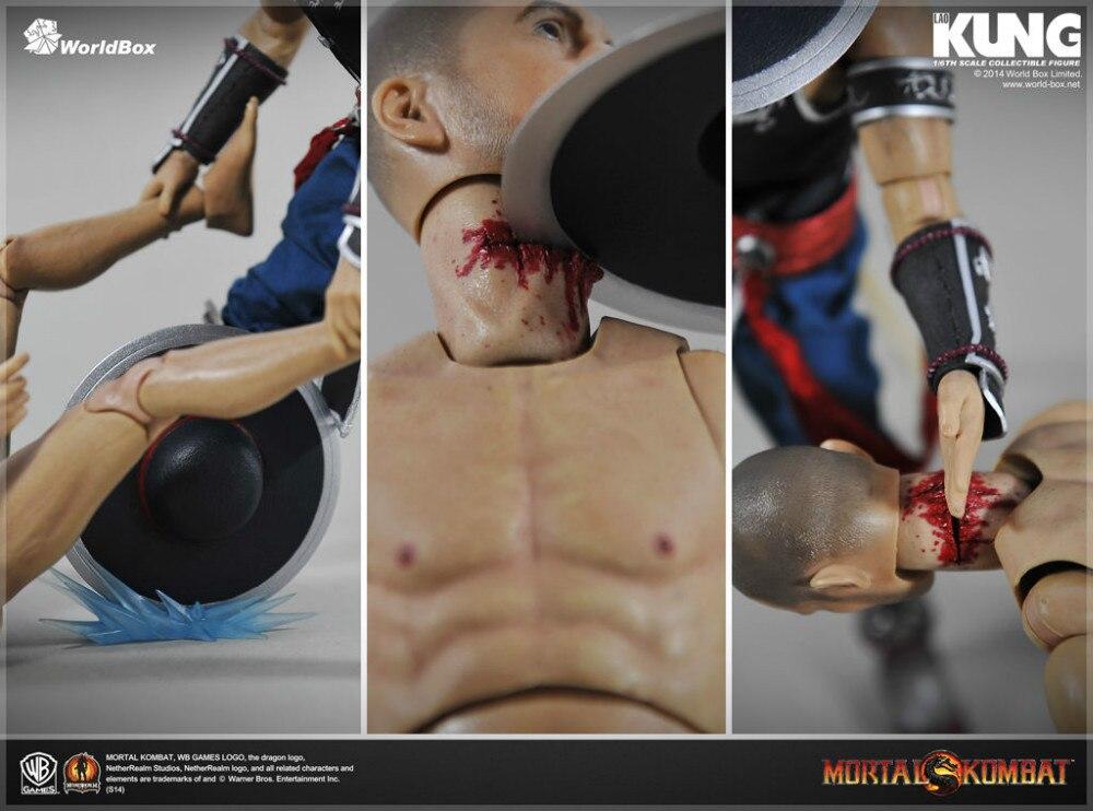 "WorldBox /""Mortal Kombat/"" Kung Lao w// Crazy Durable Body 1//6 Figure IN STOCK"