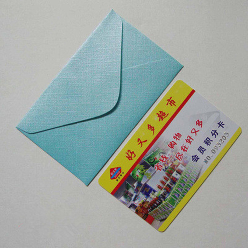 120gsm High Quality Pearl Envelope For Business Card Vip Card Membership Card Mini Envelopes Last Style Office & School Supplies