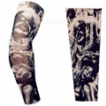 Cycling Sleeve Warmers Tattoo Sleeve Plus Size Nylon Fake Temporary Tattoos Sleeve Body Arm Warmer for Cool Men Women