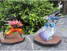 Anime Dragon Ball Z Figuarts Zero 15CM Vegeta Son Goku PVC Action Figure Brinquedos Collectible Model Toy Christmas Gift