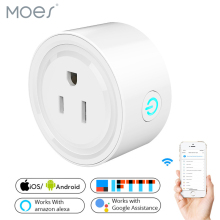 2019 New Smart Wifi Socket US Power Plug Mobile APP Remote Control Works with Amazon Alexa Google Home for Smart Life qiachip wifi smart home socket app remote control light switch work with amazon alexa google home for phone french plug socket