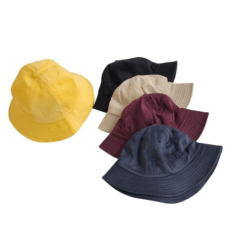 06fc1b48527 Outdoor Fishing Sun Hat For Women Fisherman Panama Cap Bob Chapeau Cotton Brand  Summer Bucket Hat Men Hip Hop Corduroy Hats