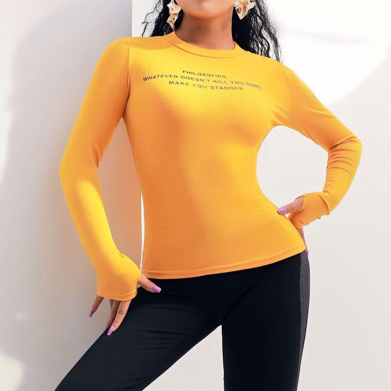 Haut Femmes Longues Séchage Forme Pour De rose Élasticité À Physique Vêtements Femelle Rapide jaune Chemise Manches Soisou Entraînement Respirant shirts T Noir Haute Bonne Sexy RYqwxRt8Z